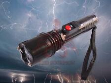 Red Scorpion Stun Gun 105 - 10 Billion Volts Police Rechargeable LED Flashlight