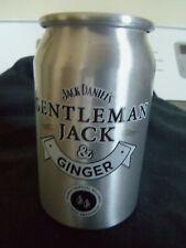 Jack Daniel's Gentleman Jack & Ginger aluminum cups mugs New