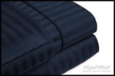 Wrinkle Free Striped Bed Sheets Set Deep Pocket Luxury 100% Microfiber