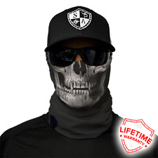 Black Skull Face Shield von SA Company *SOFORTVERSAND*