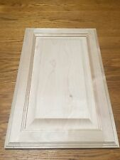 "Raised Panel Natural Birch 12.5"" x 19"" Unfinished Cabinet Door (Stain/A GRADE)"
