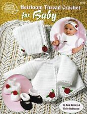 Crochet Pattern Heirloom Thread Crochet for Baby  11 Beautiful Designs