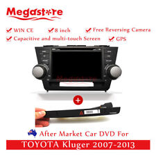 "8"" Car DVD GPS Navi Head Unit With Hazard Button  For TOYOTA Kluger 2007-2013"