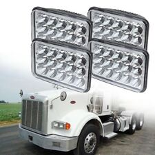 4X LED Headlights Sealed Beam HID Bulb For kenworth Peterbilt 378 357 379