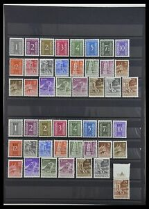 Lot 34014 Stamp collection Indonesia 1950-1954.