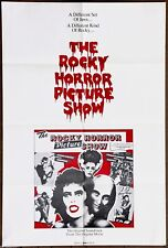 The Rocky Horror Picture Show  Very Rare Vintage Original ST Promotional Poster