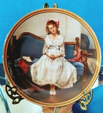 "Knowles 1993 ""Waiting At The Dance"" Norman Rockwell's Collector Plate 5Th Issue"