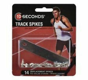 """10 Seconds 12 Replacement Track Spikes 3/8"""" Pyramid, Sports, Running Spikes"""