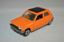 Norev Jet car Renault 5 orange in excellent plus condition