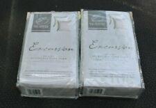 Pair of Eva Shockey Collection Gray Linen Euro Pillow Sham 27� X 27� Excursion