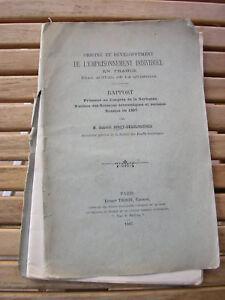 G. Joret-Desclosières : Origine et développement de l'emprisonnement individuel