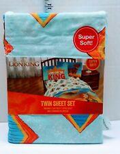 Disney The Lion King Twin Sheet Set polyester kids bedding new #23283