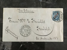 1910 Hankow China Russia Post Office Cover to Germany