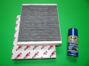 Aktivkohle Pollenfilter / Innenraumfilter + Klimareiniger Chevrolet Aveo 2