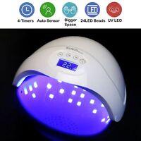 New 36W 48W 90W LED UV Nail Dryer Gel Polish Lamp Salon Curing Manicure Machine