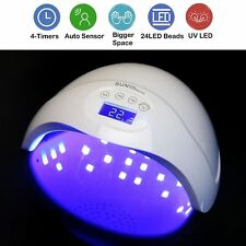Professional LED UV Nail Dryer Gel Polish Lamp Salon Curing Manicure Machine 48w