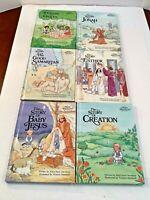 Lot of 6 Alice in Bibleland Storybooks Hardcover Alice Joyce Davidson