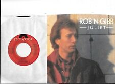 ROBIN GIBB * 45 * Juliet * 1983 * MINT PROMO DJ * USA ORIGINAL w/ PICTURE SLEEVE