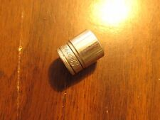 Snap-on tools 3/8 drive 11/16in. socket used FS221 6 point -- FREE SHIPPING