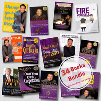 2020 - COMPLETE NEW [34 Book Bundle] Rich Dad Poor Dad Series by Robert Kiyosaki