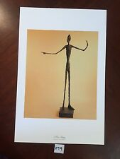 Man Pointing by Alberto Giacometti 11x17 Vintage Artwork Reproduction Print
