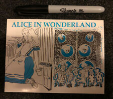 Alice In Wonderland Acid House Rave Flyer