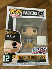 FUNKO POP NFL Football - Green Bay Packers Aaron Rodgers Nr. 43 Superbowl - NEU