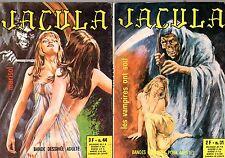 JACULA  LOT DE 2 NUMEROS (31 et 44)   ELVIFRANCE 1974  RARE