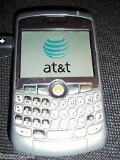 BLACKBERRY CURVE 8310 EDGE V450.182 SMARTPHONE CELL PHONE BUNDLE SILVER AT&T