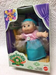 Cabbage Patch Kid Collectible 1998 Dress 'N Play Hallie Victoria  Born March 11