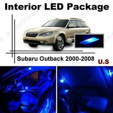 Blue LED Lights Interior Package Kit for Subaru Outback 2000-2008 ( 8 Pieces )