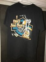 1987 Harley Davidson San Diego  Graphic T Shirt I Own It Double Sided Ca