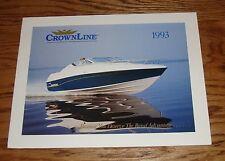 Original 1993 Crownline Boat Full Line Sales Brochure 93