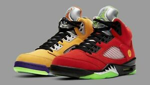 Air Jordan 5 Retro SE What The - Mens Size 11.5 - CZ5725-700 BRAND NEW, WITH BOX