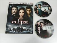 SAGA CREPUSCULO ECLIPSE 2 DVD + LIBRO EDICION ESPECIAL LIBRO - AM