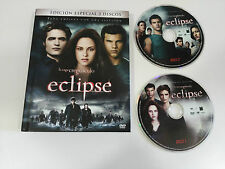 SAGA CREPUSCULO ECLIPSE 2 DVD + LIBRO EDICION ESPECIAL LIBRO DESCATALOGADO!!!