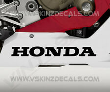 2x Honda Bellypan Premium Cast Decals Stickers VFR 800 CBR 1000 600 RR SP 300mm