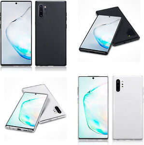 Silicone Slim TPU Gel Back Protector Case Cover for Samsung Galaxy Note 10 Plus