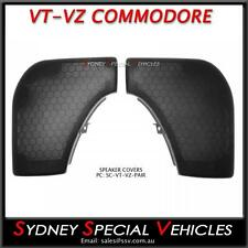 NEW PASSENGER & DRIVERS SIDE SPEAKER COVERS GRILLES FOR VT VX VU VY VZ COMMODORE