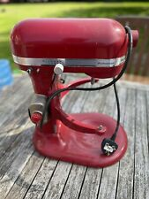 More details for kitchenaid professional mixer red spares repairs