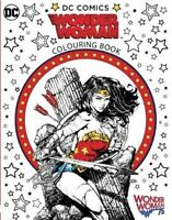 Wonder Woman Colouring Book, Brothers, Warner, New