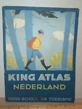 King Atlas Nederland Tonnema Cie Sneek Dutch Pepermunt Sweets 1936 Netherlands