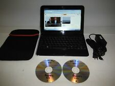 """Black Dell Inspiron 1012 Mini Netbook - 10.1"""" 160 GB 1 GB Atom 1.66 GHz Win7"""
