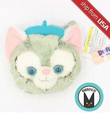Tokyo Disney Sea Duffy bear friend Gelatoni Plush Coin Case Purse Bag Japan Cute