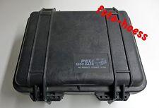 Peli Case 1200 Hartschalenkoffer mit Kameratasche Foto Tasche Koffer
