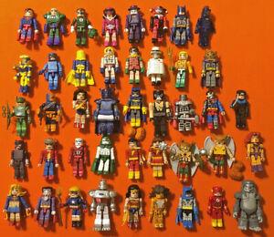 DC Minimates CHOOSE FROM 43 DIFFERENT FIGURES Series 1-7 2007-2008 Batman Flash