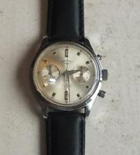 RARE MENS VINTAGE 1960's ROTARY TWIN REGISTER STAINLESS STEEL CHRONOGRAPH
