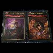 2 Advanced Dungeons & Dragons Books Players Handbook 2159 + Skills & Powers 2154