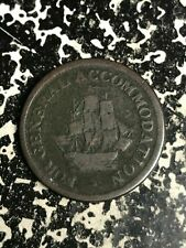 (1813) Canada 'For General Accommodation' 1/2 Penny Token Lot#L6814