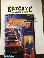 """Back To The Future 2 Future Biff Tannen 3.75"""" ReAction Figure New Super 7"""